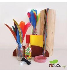 Seedling - Penacho de Plumas Indio para diseñar, juguete creativo
