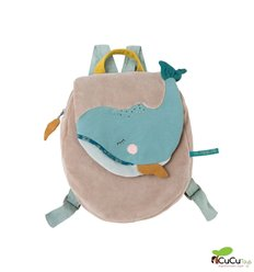 Moulin Roty - Josephine the whale Backpack - Le Voyage d'Olga