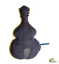 Moulin Roty - Double bass cushion - Les Moustaches