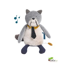 Moulin Roty - Fernand, musical cat - Les Moustaches