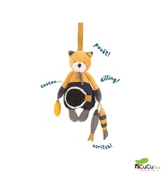 Moulin Roty - Lulu hangable activity toy - Les Moustaches