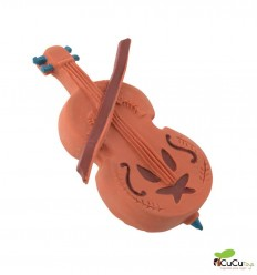 Moulin Roty - Double bass natural rubber Soother - Les Moustaches