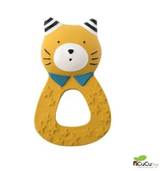 Moulin Roty - Lulu natural rubber Soother  - Les Moustaches