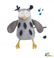 Moulin Roty - Hibou the musical Owl - Les Moustaches