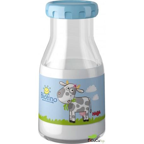 Botella mágica de leche