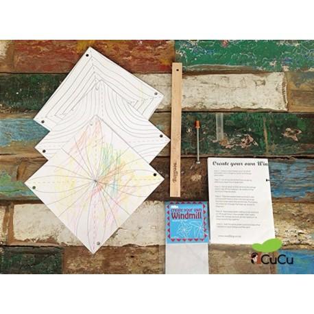 Seedling - Molino de Viento para diseñar, juguete creativo