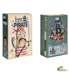 Londji - I'm a pirate, Puzzle 100 piezas