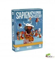 Londji - Sapiens, human history cards, Juego de cartas