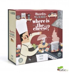 Londji - Where is the... cheese?, Observation Game - Cucutoys