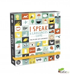 Londji - I speak 6 languages, Board game - Cucutoys