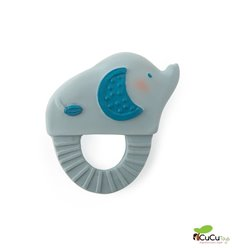 Moulin Roty - Elephant natural rubber Soother - Sous Mon Baobab