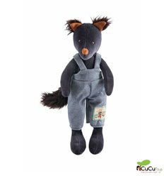 Moulin Roty - Igor the wolf, stuffed animal - La Grande Famille
