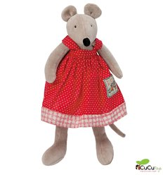 Moulin Roty - Nini the little mouse, stuffed animal - La Grande Famille