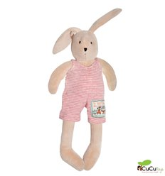 Moulin Roty - Sylvain the rabbit, stuffed animal - La Grande Famille