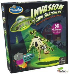 Thinkfun - Invasion of the cow Snatchers - Cucutoys