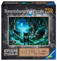 Ravensburger - Wolf Pack, escape puzzle - Cucutoys