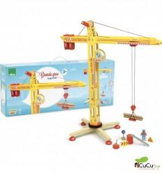Vilac - Big Crane, wooden toy