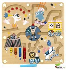 Vilac - Laberinto del Circo Michelle Carlslund, juguete magnético