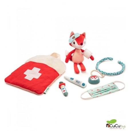 Lilliputiens - Bolsa de médico Alice, juguete de peluche