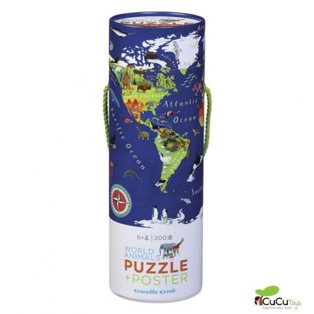 Crocodile Creek - EL Mundo, Poster + Puzzle 200 piezas