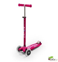 Micro - Patinete Maxi Deluxe Led Rosa