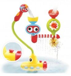 Yookidoo -  Estación de chorros con submarino, juguete de baño