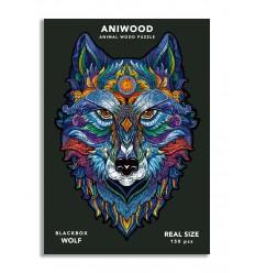 Aniwood - Puzzle de madera Lobo de 150 piezas