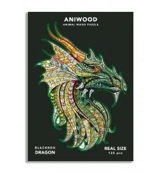 Aniwood - Puzzle de madera Dragón de 125 piezas