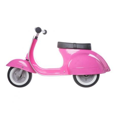 Ambosstoys - Moto Scooter Vespa Primo Classic Rosa