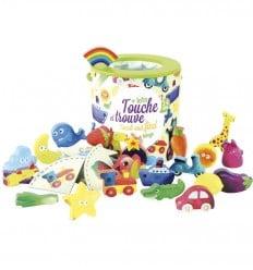Vilac - Tocado, encontrado + Bingo, juguete sensorial