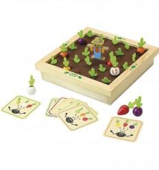 Vilac - Memo del huerto, juego de mesa