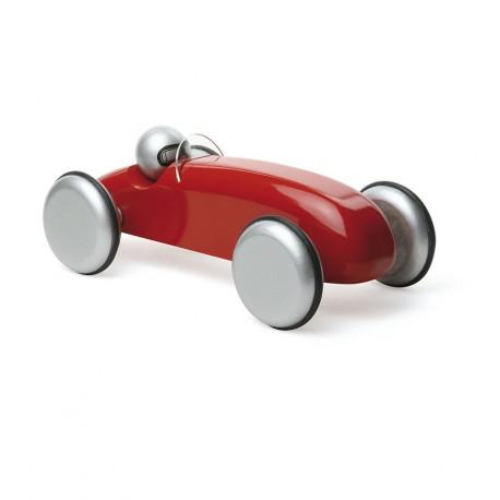 Vilac - Coche Bólido de carreras rojo, juguete de madera