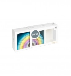 Dëna - Arco-íris Pastel 12X, brinquedo de silicone