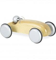 Vilac - Coche de carreras Speedster natural, juguete de madera
