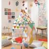 Djeco - Casita de tela cabaña multicolor