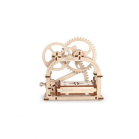 UGears - Etui - Caja mecánica, kit de madera 3D