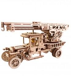 UGears - Camión de bomberos, kit de madera 3D