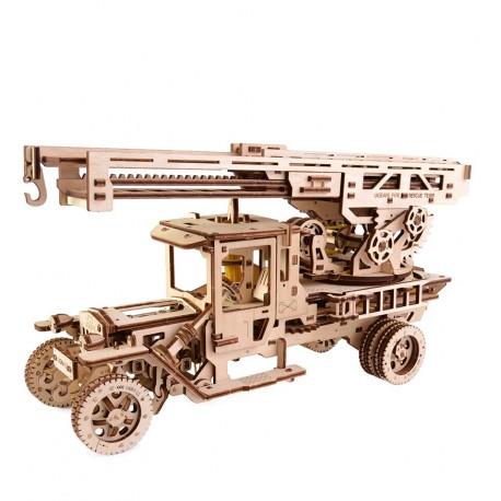 UGears - Fire Ladder, 3D mechanical model