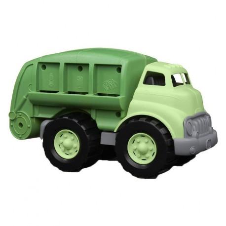 GreenToys - Camión de reciclaje de juguete