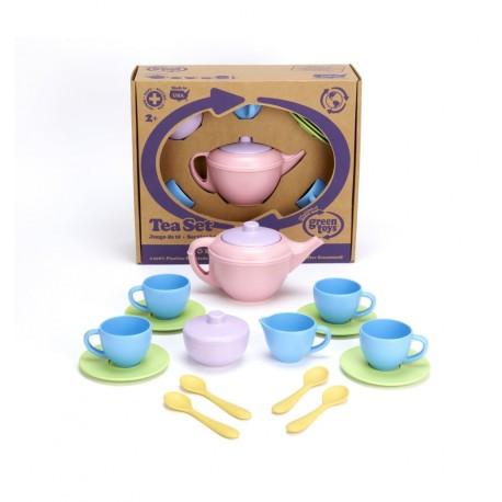 GreenToys - Juego de té infantil, juguete ecológico