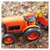 GreenToys - Tractor, juguete ecológico de plástico reciclado