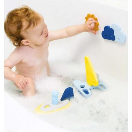 Quut - Sail Away, 3D Bath Puzzle