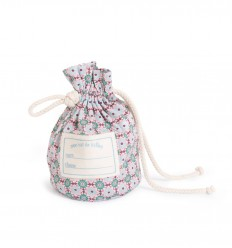 Moulin Roty - Printed flowers marble bag Champion