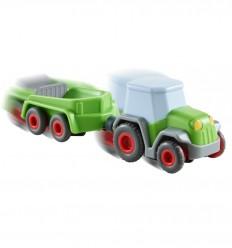 HABA - Kullerbü, Tractor with trailer - Cucutoys
