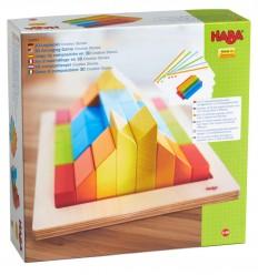HABA - Juego composición 3D Creative Stones