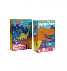 Londji - My T-Rex, quebra-cabeça de 36 pz - Cucutoys