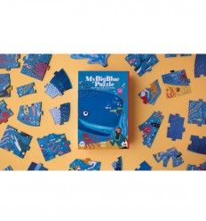 Londji - My Big Blue, quebra-cabeça de 36 pz - Cucutoys