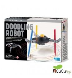 4M - Robot pintor divertido, juguete educativo