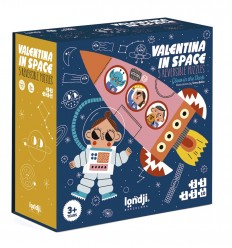 Londji - Valentina in space, Puzzle evolutivo de 10 piezas