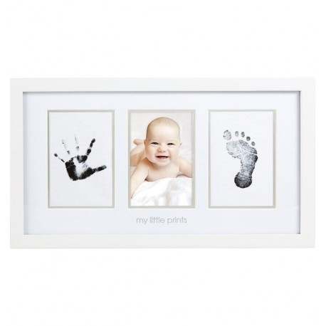 Pearhead - Marco pared Babyprints blanco